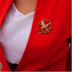 MockingJay brooch pin